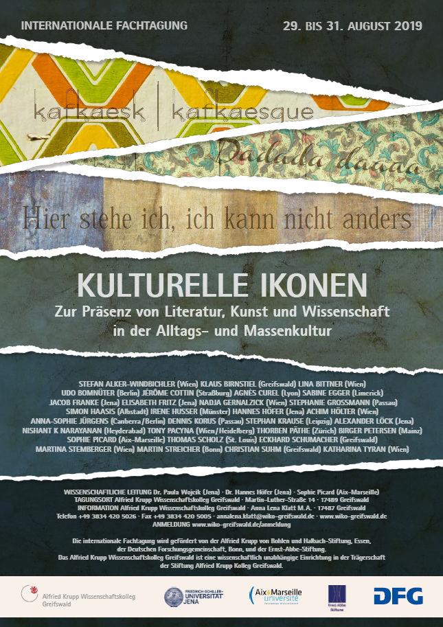 Plakat_Kulturelle Ikonen (c) Foto: Anna Klatt